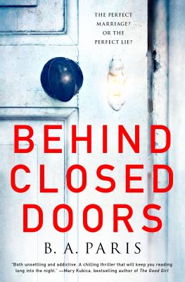Cover art for Behind closed doors  by Paris, B. A., author.